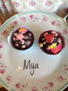 Scoffed by her mum (tis me) before the Mother's day