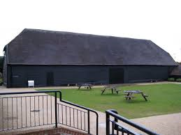 The Great Barn outside